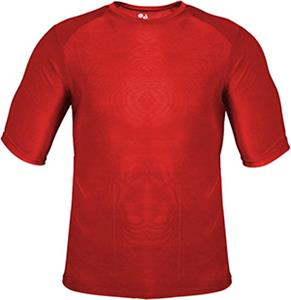 Badger Sport Half Sleeve Battle Tight Tee Shirt