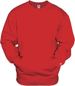 Badger Sport Adult Pocket Crew Sweatshirt