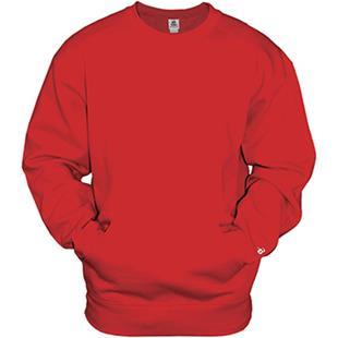 Badger Sport Adult Pocket Crew Sweatshirt