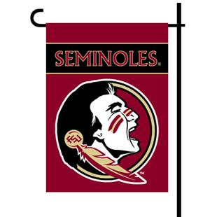 """Florida State 2-Sided 13"""" x 18"""" Garden Flag"""