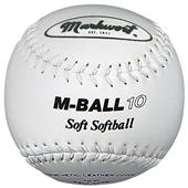 "Markwort 10"" M-BALL10 Safety Lightweight Softballs"