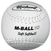 "Markwort 10"" M-BALL10 Safety Lightweight Softballs"