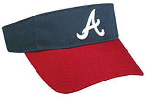 MLB Pre-Curved Atlanta Braves Visor