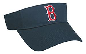 MLB Pre-Curved Boston Red Sox Visor