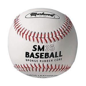 """Markwort 9"""" SM35 Sponge Rubber Core Baseballs"""