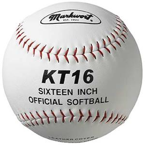 Markwort 16&quot; KT16 Large Leather Cover Softballs