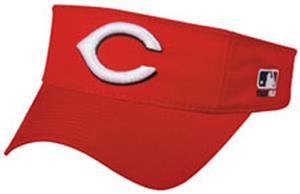 MLB Pre-Curved Cincinnati Reds Visor