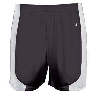 Badger Sport Girls Turn 2 Athletic Shorts-Closeout