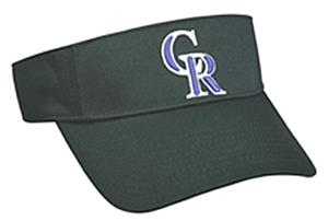 MLB Pre-Curved Colorado Rockies Visor