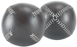 Markwort Brown 19c Vintage Old TYME Baseballs