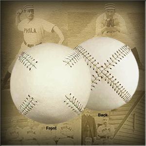 Markwort Off-White 19c Vintage Old TYME Baseballs