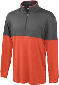 Pennant Color Block Edge Warmup Pullover