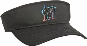 MLB Pre-Curved Florida Marlins Visor