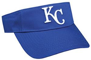 MLB Pre-Curved Kansas City Royals Visor