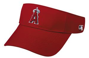 MLB Pre-Curved Los Angeles Angels Visor