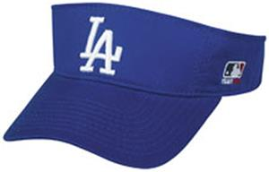 MLB Pre-Curved Los Angeles Dodgers Visor