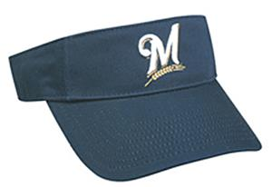 MLB Pre-Curved Milwaukee Brewers Visor