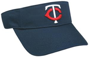 MLB Pre-Curved Minnesota Twins Visor