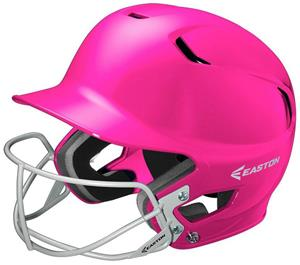 Easton Z5 Solid With Mask Fastpitch Batters Helmet