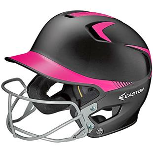 Easton Z5 2-Tone w/Mask Fastpitch Batters Helmet