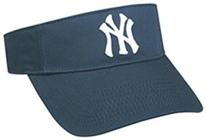 MLB Pre-Curved New York Yankees Visor