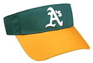 MLB Pre-Curved Oakland Athletics Visor