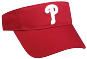 MLB Pre-Curved Philadelphia Phillies Visor