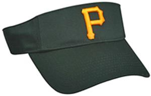 MLB Pre-Curved Pittsburgh Pirates Visor