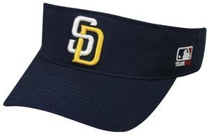 MLB Pre-Curved San Diego Padres Visor