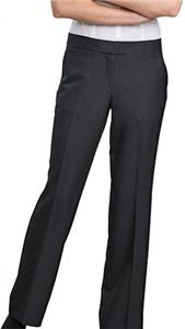 Edwards Womens Poly Synergy Mid-Rise Dress Pants