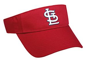 MLB Pre-Curved St. Louis Cardinals Visor