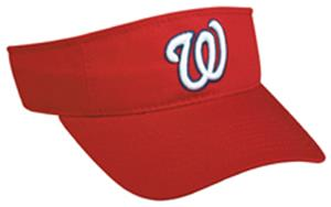 MLB Pre-Curved Washington Nationals Visor