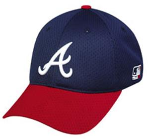 MLB Stretch Fit Atlanta Braves Home Baseball Cap
