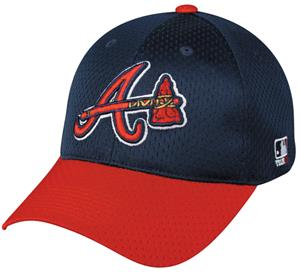 MLB Stretch Fit Atlanta Braves Alter. Baseball Cap