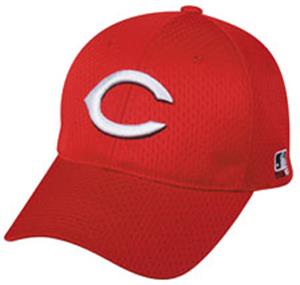 MLB Stretch Fit Cincinnati Reds Home Baseball Cap
