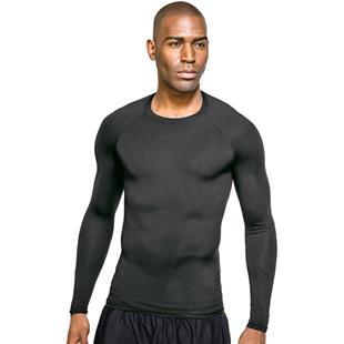 Tri Mountain Adult Gauntlet LS Compression Shirt
