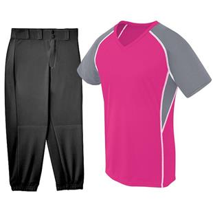 H5 Womens EVOLUTION Softball Jersey Uniform Kit