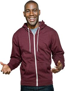 Tri Mountain Adult Devin Cotton/Poly Zip Hoody