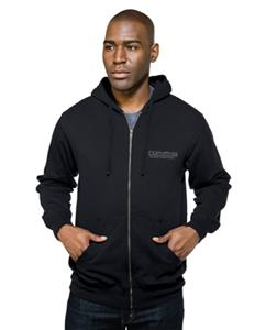Tri Mountain Adult Chance Zip Hooded Sweatshirt