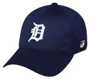 MLB Stretch Fit Detroit Tigers Home Baseball Cap