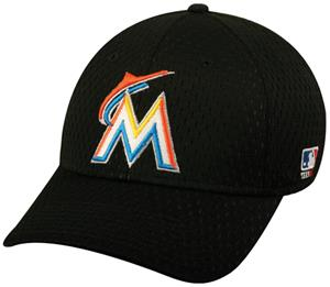 MLB Stretch Fit Florida Marlins Baseball Cap
