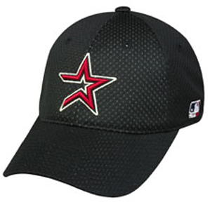 MLB Stretch Fit Houston Astros Baseball Cap