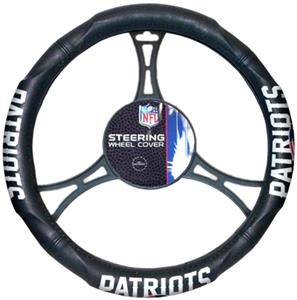 Northwest NFL Patriots Steering Wheel Cover
