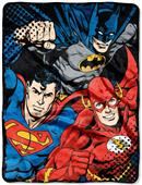Northwest Justice League Trio Micro Raschel Throw