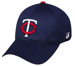 MLB Stretch Fit Minnesota Twins Baseball Cap