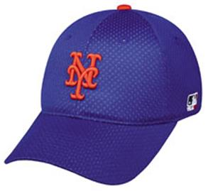 MLB Stretch Fit New York Mets Home Baseball Cap