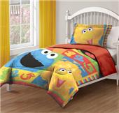 Sesame Street Big Chalk Fun Twin Comforter