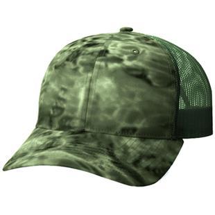 Richardson 872 Aqua Design Mesh Back Camo Caps