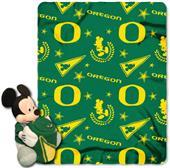 Northwest NCAA Oregon Mickey Hugger Throw