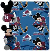 NHL Colorado Avalanche Mickey Hugger Throw
